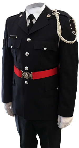 police officer number 1 dress uniform