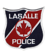 LaSalle Police Badge