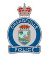 Orangeville Police Badge