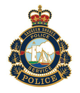 Saugeen Shores Police Badge