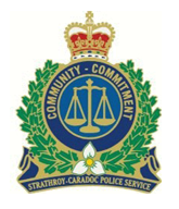 Strathroy Caradoc Police Badge