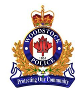 Woodstock Police Badge