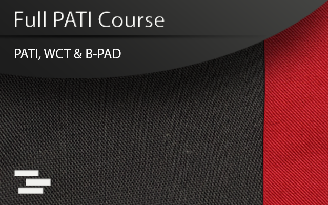 Full PATI, WCT & B-PAD Course